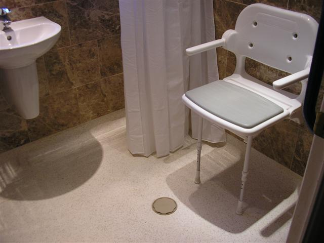 Disabled wet room